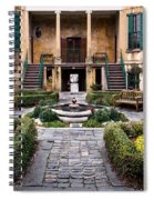 Villa Courtyard Spiral Notebook