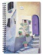 Villa Degli Algeri Tuscany Spiral Notebook