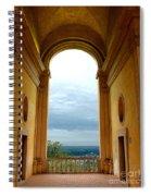 Villa Deste Tivoli Italy Spiral Notebook