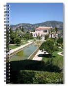 Villa Ephrussi De Rothschild And Garden Spiral Notebook