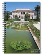 Villa Ephrussi De Rothschild With Reflection Spiral Notebook
