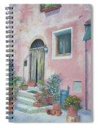 Villa In Il Borro Tuscany Spiral Notebook