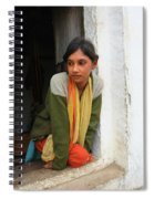 Village Girl India Spiral Notebook