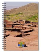Village In Atlas Mountains In Morocco Spiral Notebook