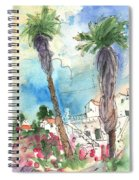 Village In Lanzarote 02 Spiral Notebook