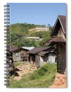 village in Madagascar Spiral Notebook