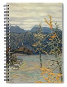 Village In The Ural Mountains Spiral Notebook