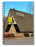 Village Inn Pizza Spiral Notebook