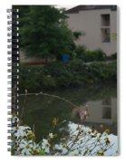 Village Life Spiral Notebook