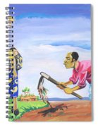 Village Life In Cameroon 01 Spiral Notebook
