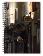 Village Nightscape Spiral Notebook