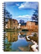 Village Reflections Spiral Notebook