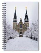 Villanova University In The Snow Spiral Notebook