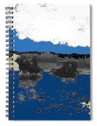 Villa's Car Pulled By Horse Riders Durango 1922-2013 Spiral Notebook