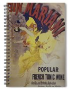 Vin Marian French Tonic Wine Dsc05581 Spiral Notebook