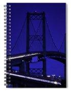 Vincent Thomas Bridge Spiral Notebook
