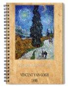 Vincent Van Gogh 4 Spiral Notebook