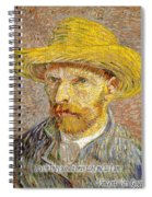 Vincent Van Gogh Quotes 6 Spiral Notebook