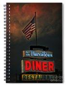 Vincentown Diner Spiral Notebook