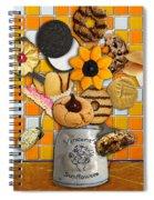 Vincent's Sunflower Cookie Jar Spiral Notebook