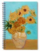 Vincent's Sunflowers Spiral Notebook