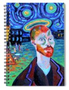 Vincents' Yellow Cafe Spiral Notebook