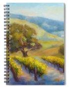 Vineyard Gold Spiral Notebook