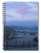 Vineyard Morning Light Spiral Notebook