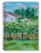 Vineyard Of Ontario 2 Spiral Notebook