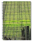 Vineyard Poles 23051 2 Spiral Notebook