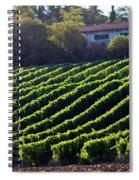Vineyard Spiral Notebook