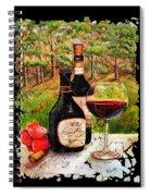 Vino Spiral Notebook