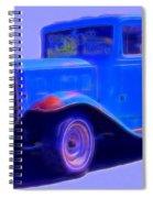 Vintage 1940's Chevrolet Spiral Notebook