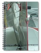 Vintage Airplane Four Spiral Notebook