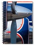 Vintage Airplane Spiral Notebook