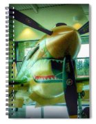 Vintage Airplane Three Spiral Notebook