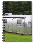 Vintage Airstream Trailer Spiral Notebook