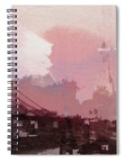 Vintage America Brooklyn 1930 Spiral Notebook