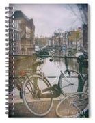 Vintage Amsterdam Spiral Notebook
