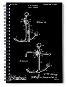 Vintage Anchor Patent Spiral Notebook