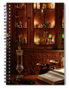 Vintage Apothecary Shop Spiral Notebook