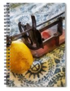 Vintage Apple Peeler Spiral Notebook