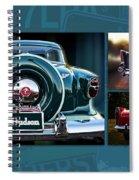 Vintage Automobiles Spiral Notebook