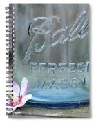 Vintage Ball Perfect Mason Blue Spiral Notebook