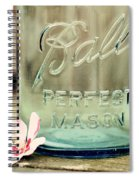 Vintage Ball Perfect Mason Spiral Notebook