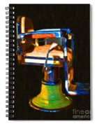 Vintage Barber Chair - 20130119 - V1 Spiral Notebook