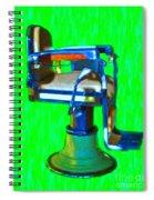 Vintage Barber Chair - 20130119 - V2 Spiral Notebook