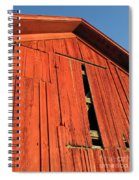 Vintage Barn Aglow Spiral Notebook