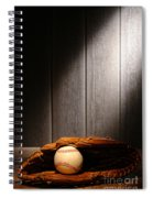 Vintage Baseball Spiral Notebook
