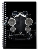 Vintage Bentley 4.5 Liter Spiral Notebook